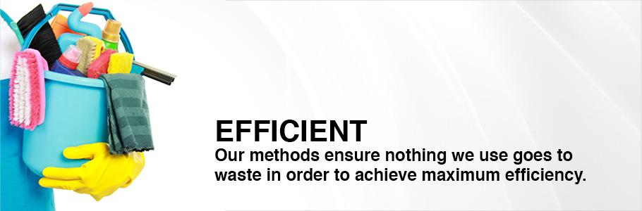Our methods ensure nothing we use goes to waste in order to achieve maximum efficiency